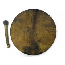 Round shamanic drum 40 cm Pilgrim workshop
