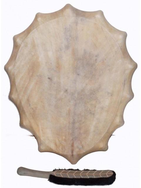 Siberian style shaman drum 50-35 cm