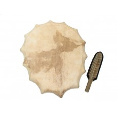 Siberian style shaman drum 60-50 cm